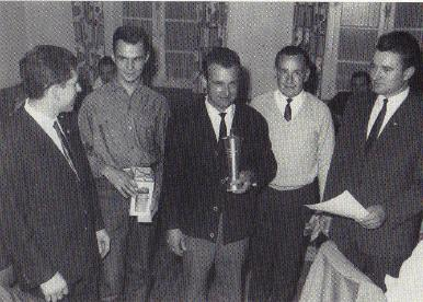 Historie - Die erste Vorstandschaft des MSC Berghaupten 1967