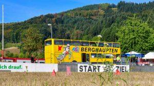 gelber Bus Verein MSC Berghaupten