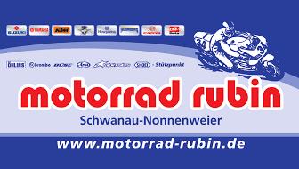 Motorrad Rubin Logo - Sponsor MSC Berghaupten