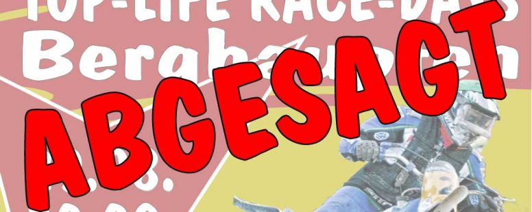 Absage Top Life Race Days 2020